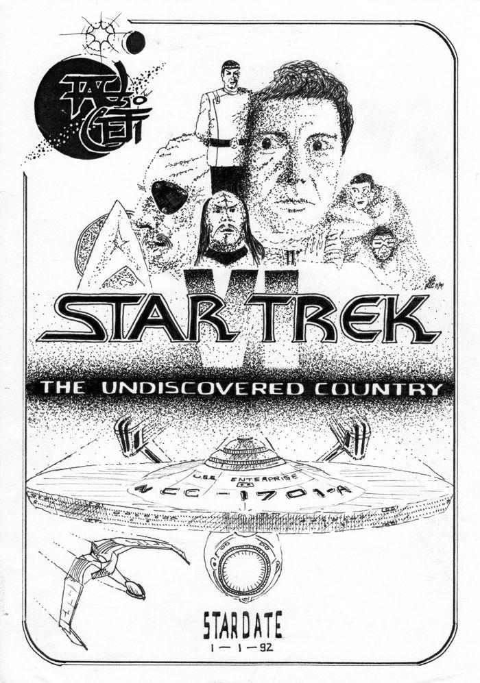 Tau Ceti January 1992 cover