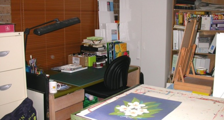 My art desk