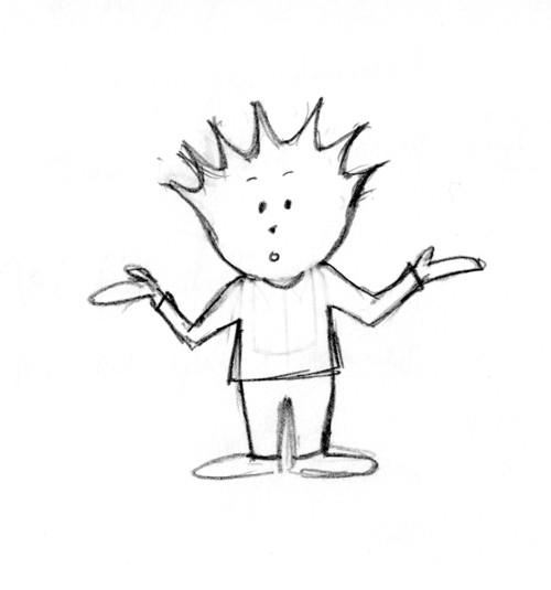 Spike – original sketch