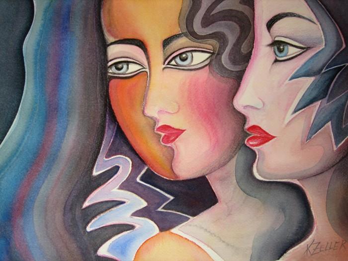 Girlfriends by Karin Zeller