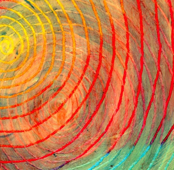 Swirl texture cut 1