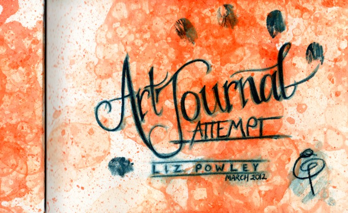 Art Journal Attempt Page 1