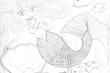 Mermaid 2 sketch