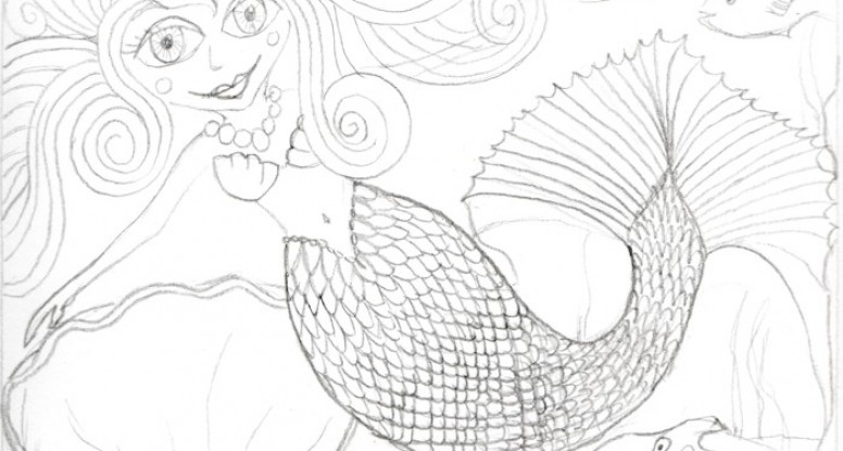 Mermaid 2 sketch