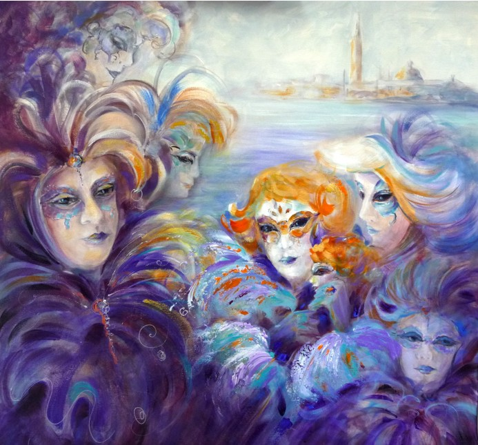 Carnevale in Venice by Ivana Pinaffo