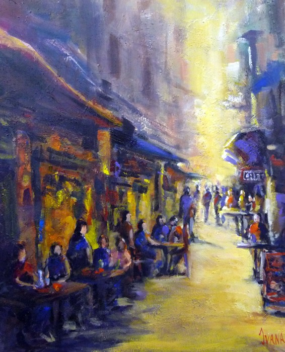 Melbourne alleyway by Ivana Pinaffo