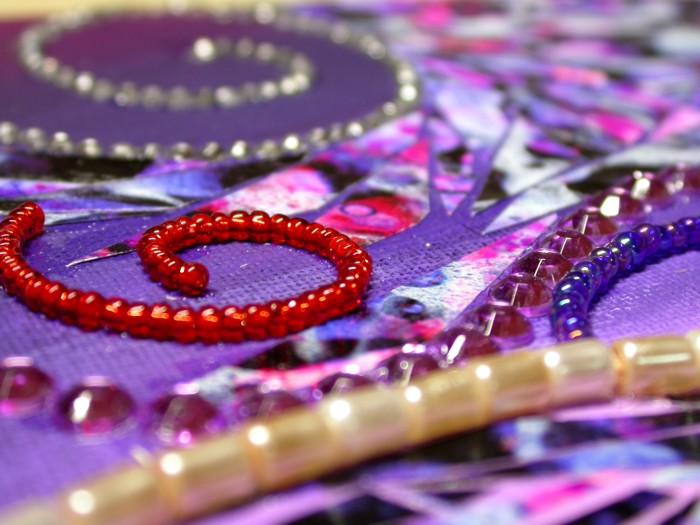 Paper and jewels mosaic wip3closeup3