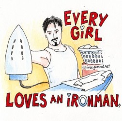 Every girl loves an ironman