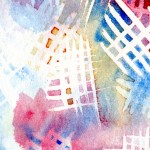 Watercolour and masking fluid experiment cut2