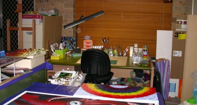 Clean studio Jan 2013