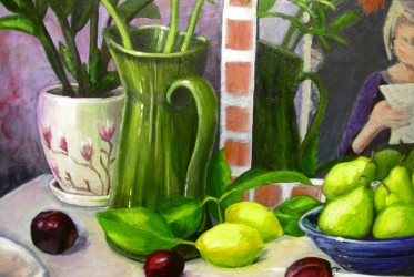 Still Life with Emotion closeup