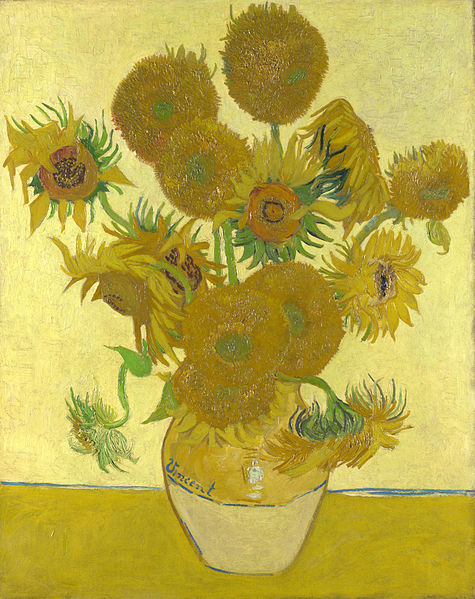Sunflowers – Vincent van Gogh