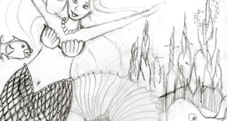 Mermaid 1 sketch