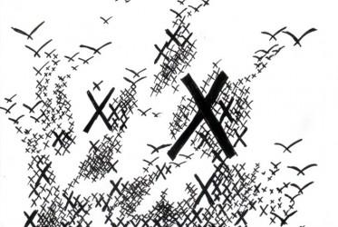 X doodle