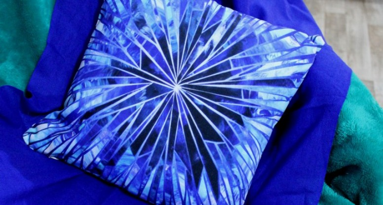 Ice Crystal cushion