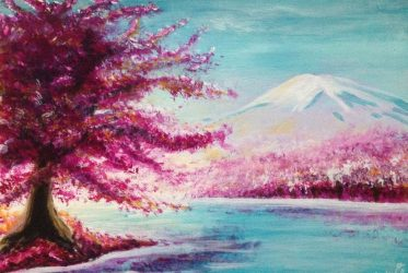 Cherry Blossom by Liz Powley